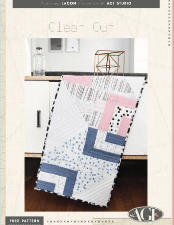 Lagom patron gratuit de patchwork table runner