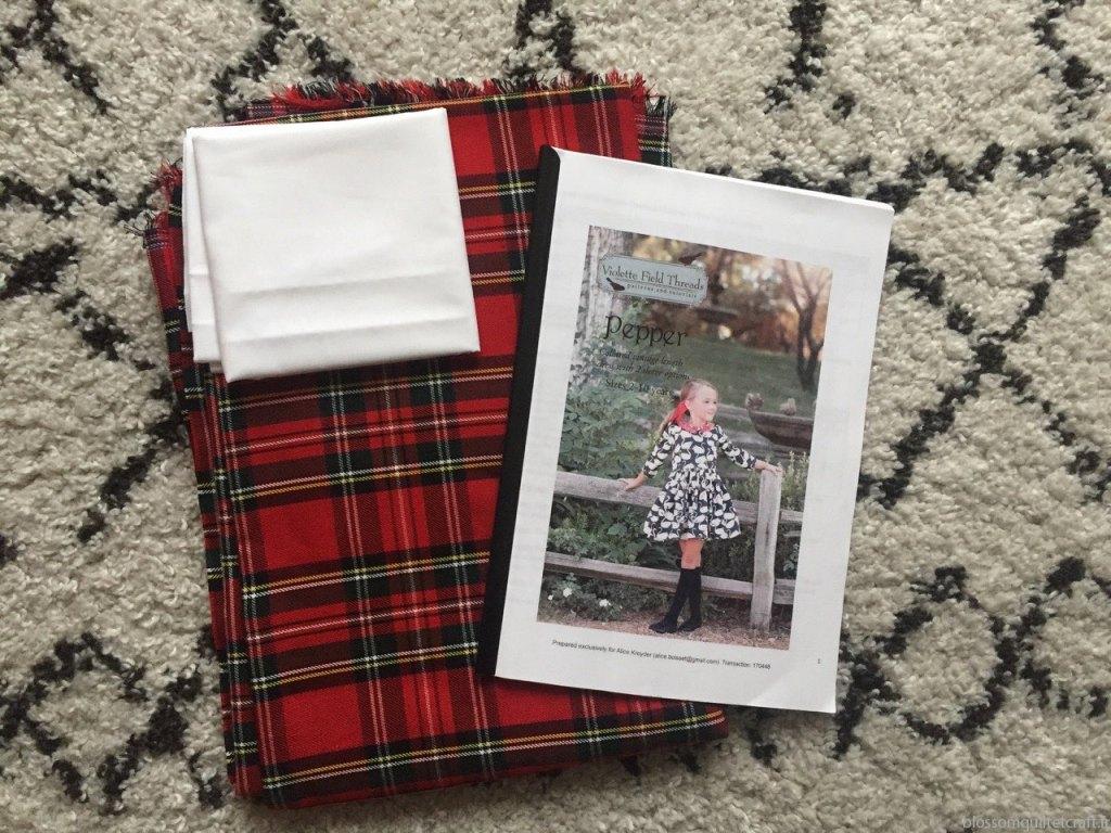 Préparation robe de Noel