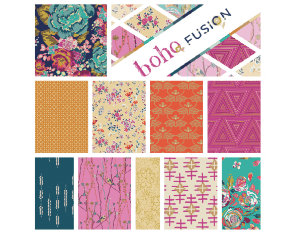 Boho Fusion Collage collection