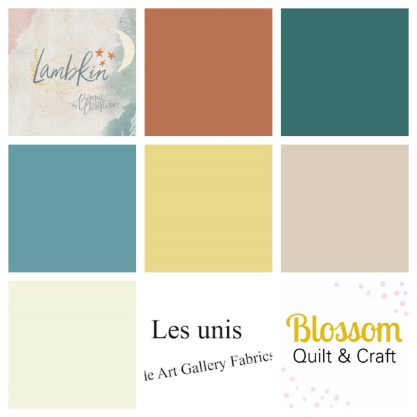 Art Gallery Fabrics Lambkin Boy unis