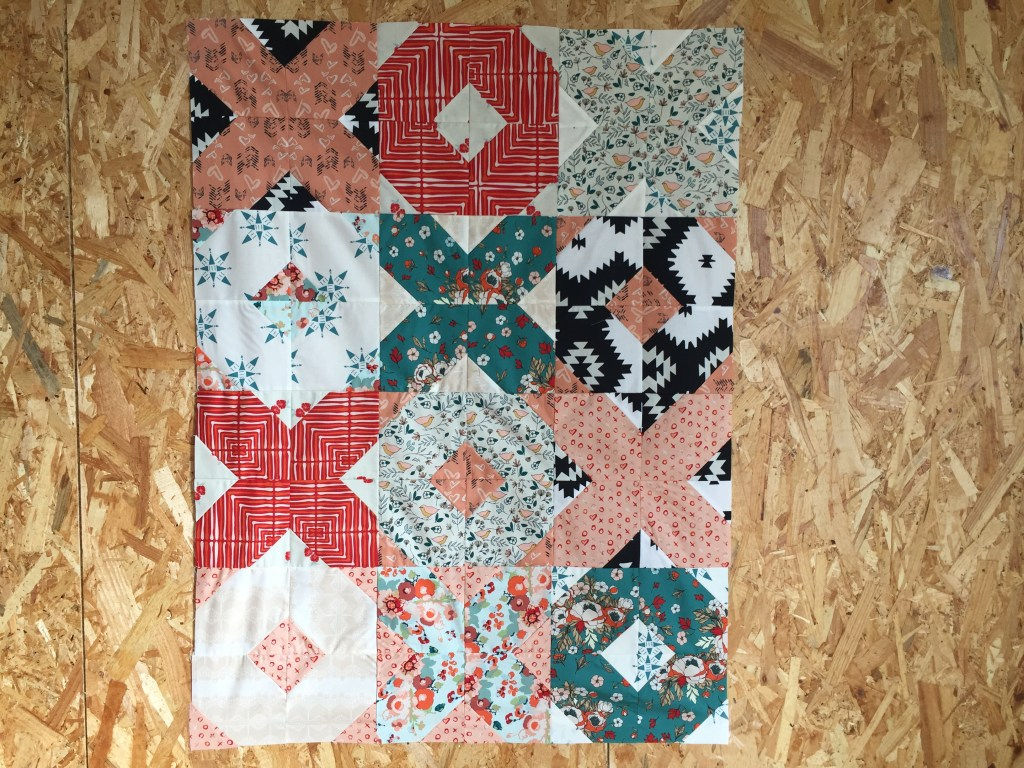 Patchwork tutoriel francais love story