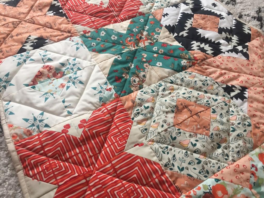 patchwork moderne matelassage