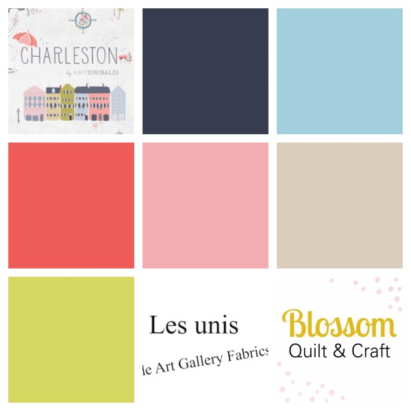 Art Gallery Fabrics Charleston unis