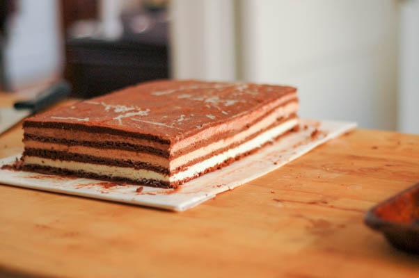 Triple Chocolate Mousse Cake Sale