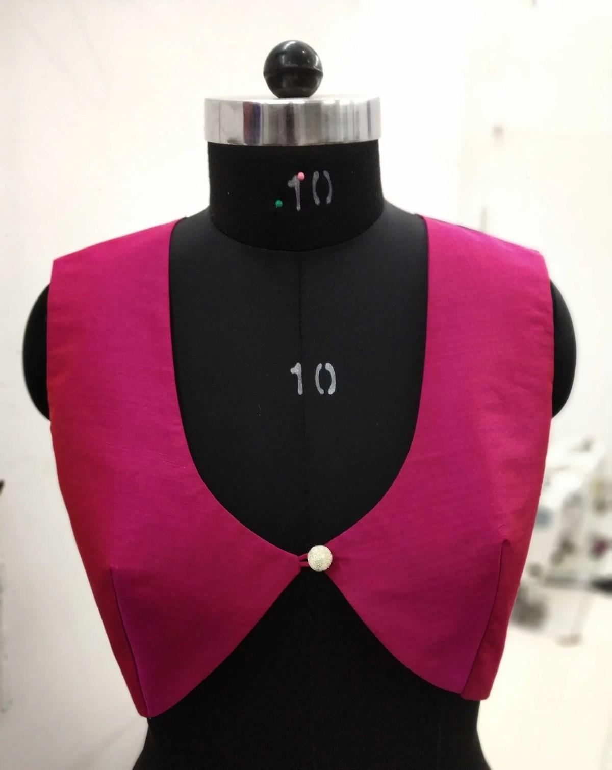 Blouse Guru Women WaistCoat Design 2