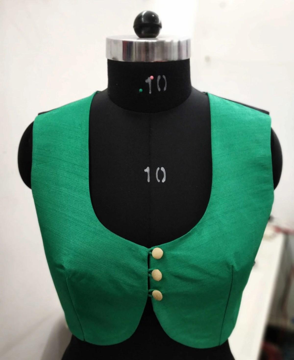 Blouse Guru Women WaistCoat Design 4