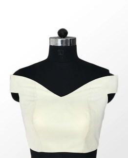 Off Shoulder Blouse Front