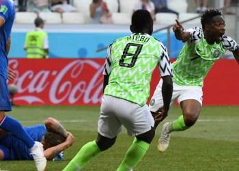 Coupe du Monde / Nigéria - Islande : Le Nigéria gagne son match face à l'Islande