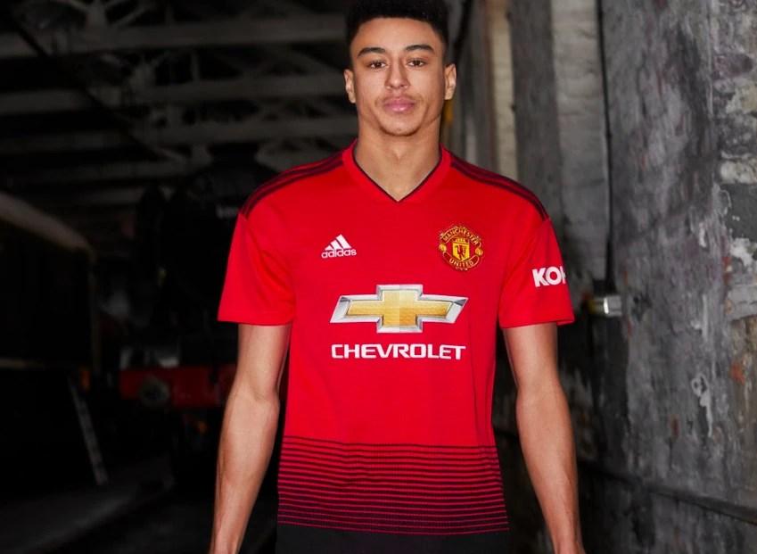 Manchester United dévoile son nouveau maillot