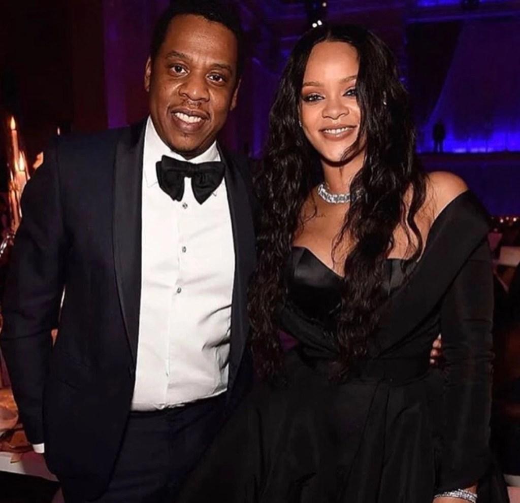 Jay Z et Rihanna