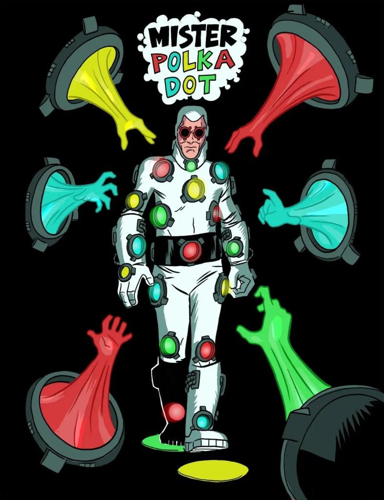 The Suicide Squad : David Dastmalchian dans le rôle de Mister Polka Dot