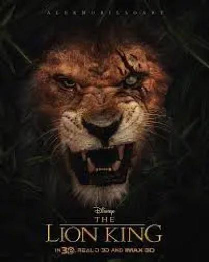 Les premières affiches du Roi Lion dévoilées