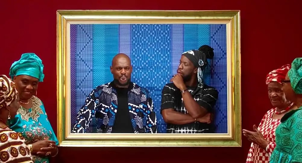 Kery James et Youssoupha à coeurs ouverts et 'Les yeux mouillés '