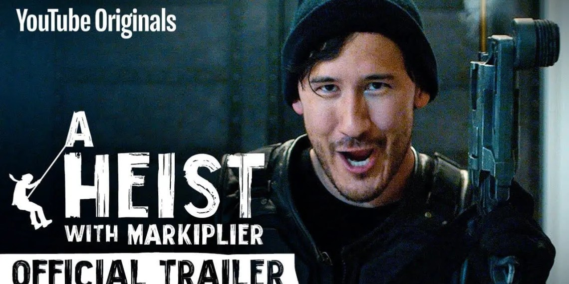 "YouTube dévoile son premier film interactif ""A Heist with Markiplier"""