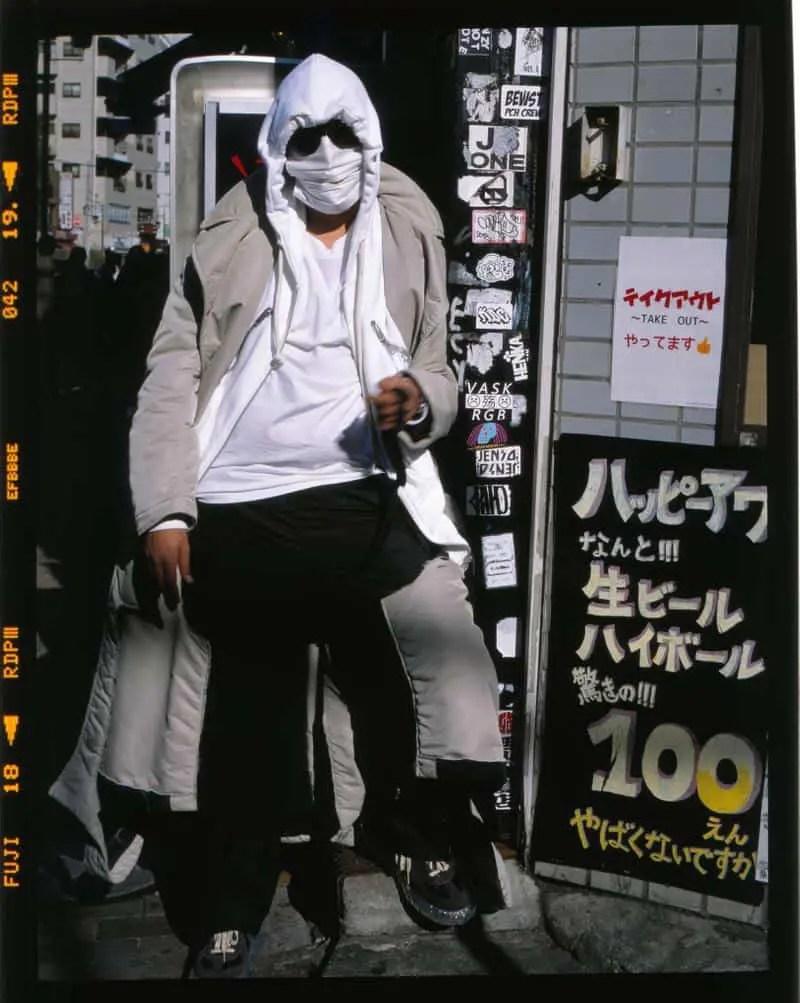 Kekra, nouvelle égérie pour la Maison Margiela. Shooting au Japon