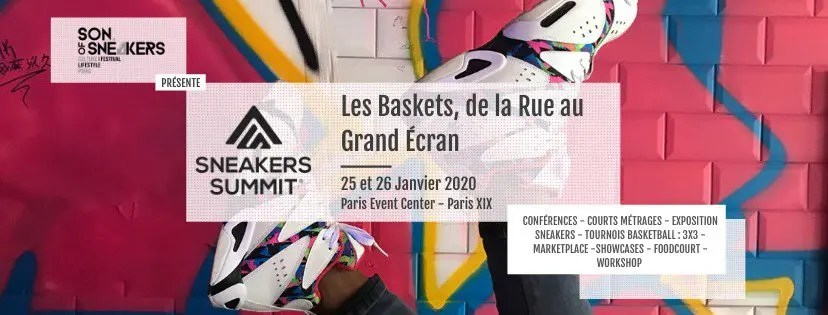 Bannière Sneakers Summit 2020