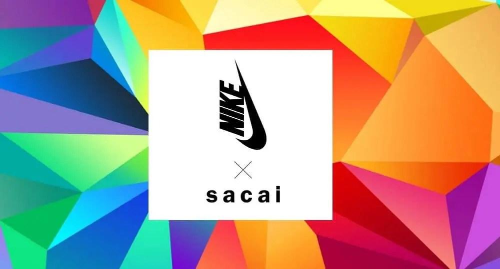 Nike x Sacai, une nouvelle collaboration sur le feu