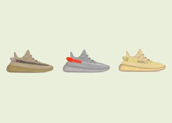 Trois zones choisies pour trois nouveaux coloris de la Yeezy Boost 350 V2