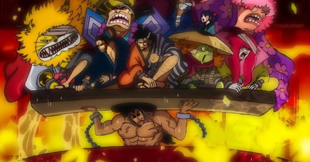 One Piece 973 révèle le passé de Kyoshiro et Komurasaki