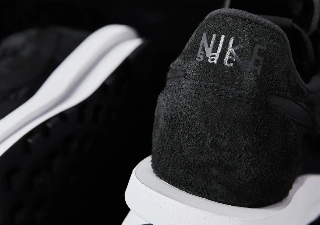 Où acheter la sacai x Nike LDWaffle Black Nylon