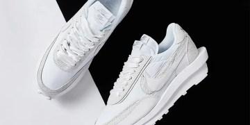 Où acheter la sacai x Nike LDWaffle White Nylon ?