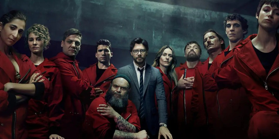 Critique Casa de papel