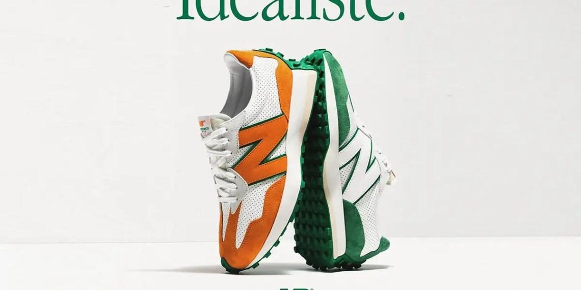 """Les Casablanca x New Balance 327 """"Idéaliste"""" sortent ce mois-ci"""