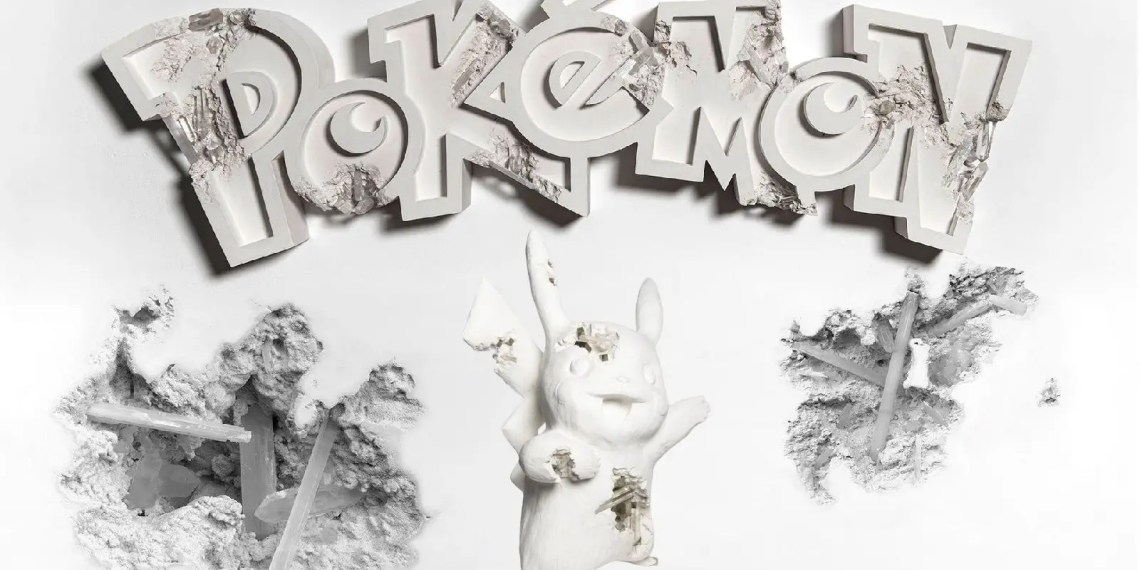 La collaboration Uniqlo X Pokemon X Daniel Arsham sort ce mois-ci