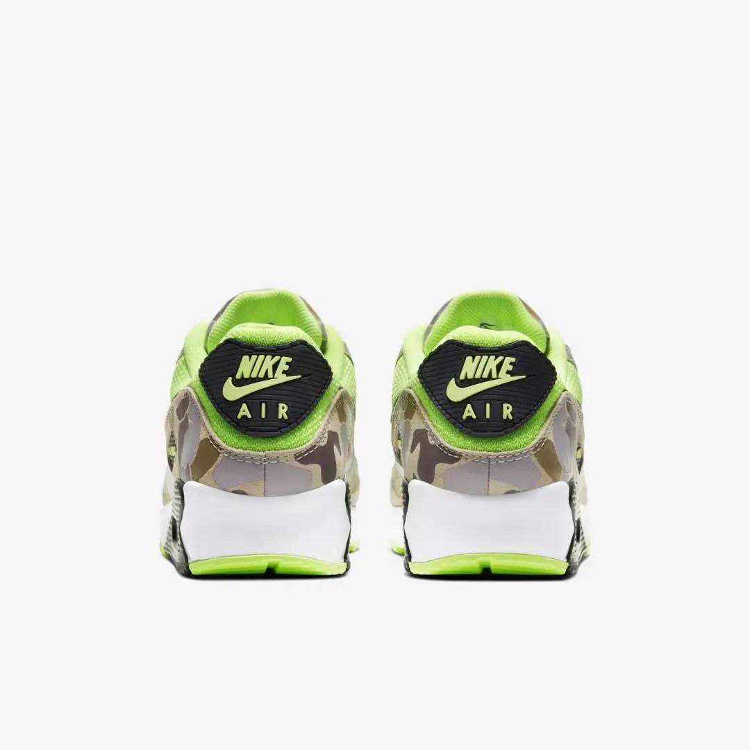 Aperçu de la Nike Air Max 90 Volt Duck Camo