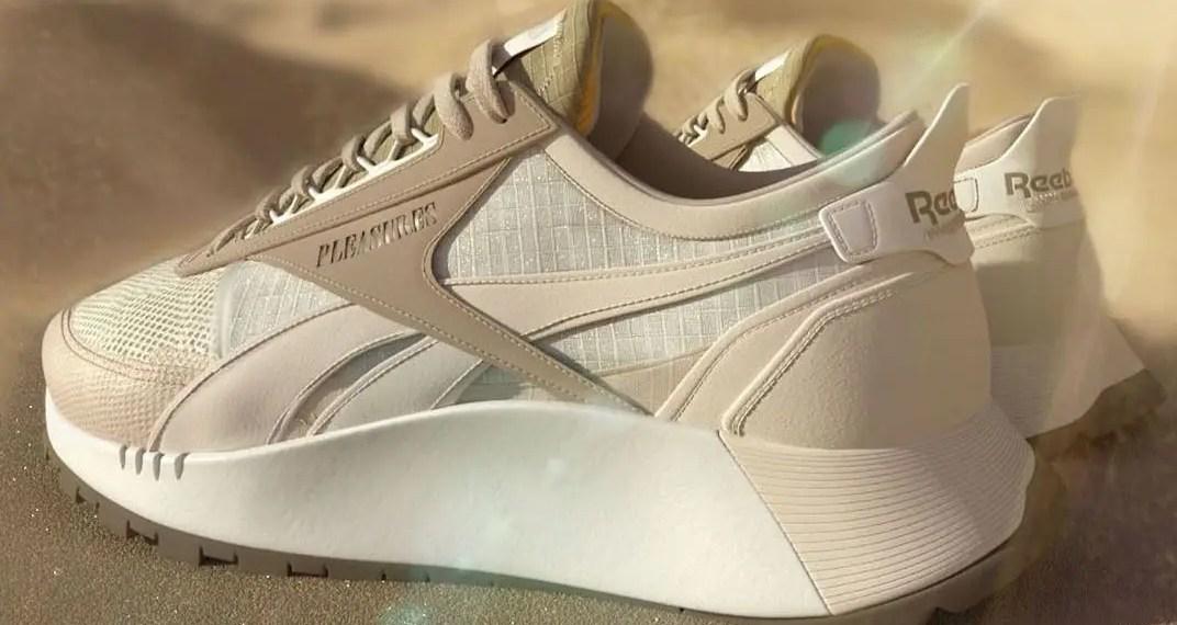 Reebok et PLEASURES préparent Classic Leather en collaboration