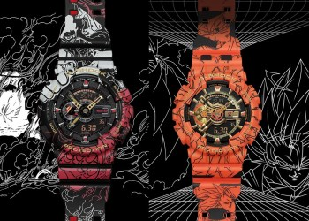 Découvrez les collaborations Dragon Ball Z et One Piece x G-Shock