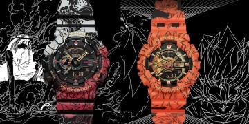 Découvrez les collaborations Dragon Ball Z et One Piece x G-Shock