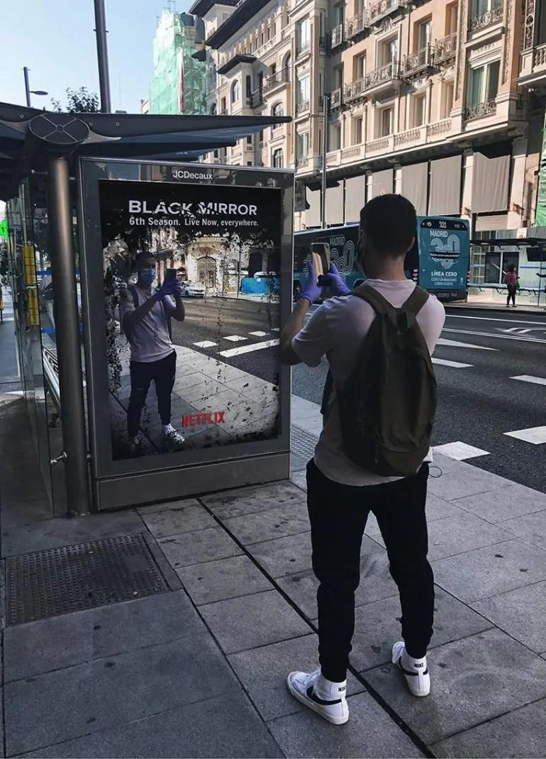 Des fausses publicités annonçant le début de la saison 6 de Black Mirror sont apparues !