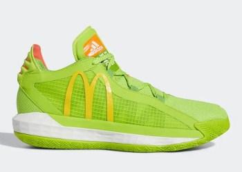 Une collaboration adidas Basketball x Mcdonald's en cours de production