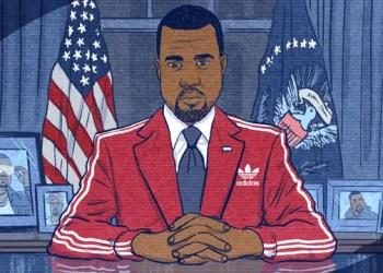 La course présidentielle de Kanye West commence maintenant