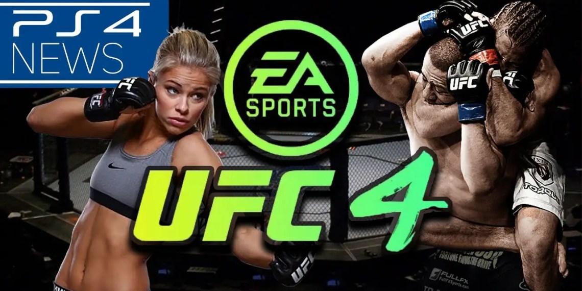 EA Sports dévoile UFC 4 bande annonce et cover