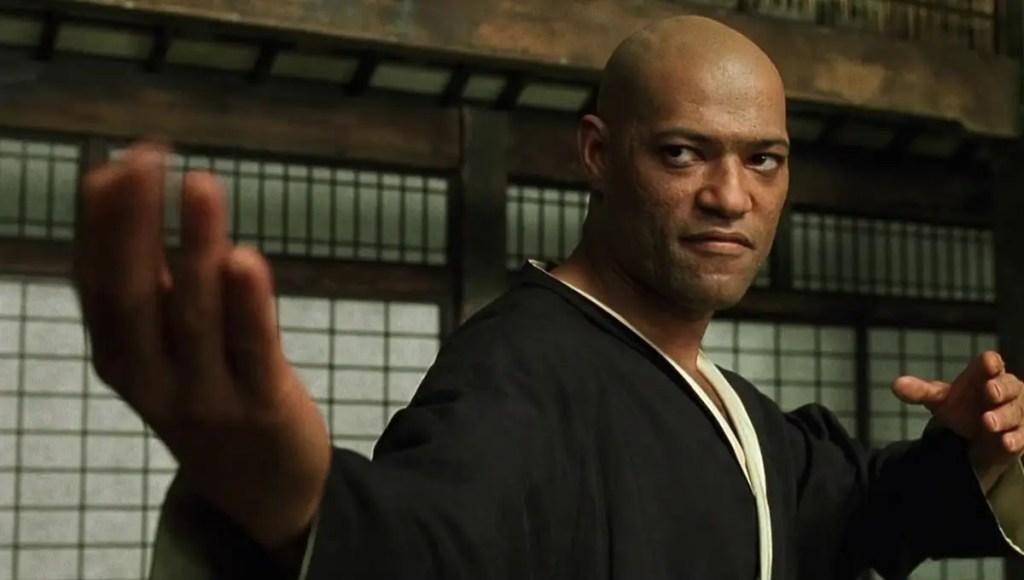 """Laurence Fishburne ( Morpheus) révèle qu'il n'a pas été """"invité"""" à rejoindre le casting de """"Matrix 4"""