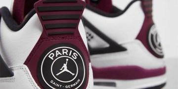 """PSG x Air Jordan 4 """"Bordeaux"""" : la date de sortie annoncée"""