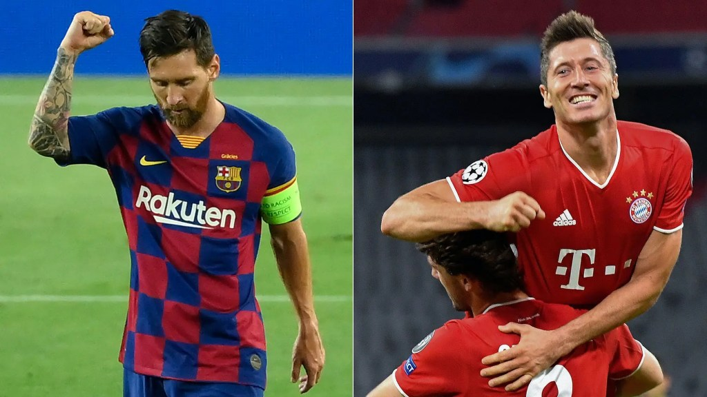 Regarder Barcelone vs Bayern de Munich en streaming live