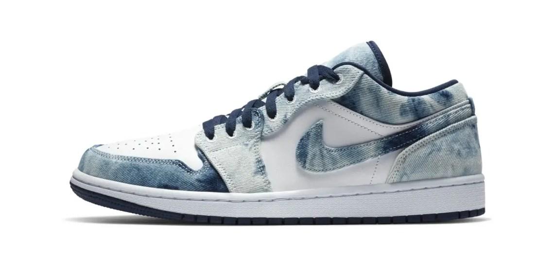 """Nike Air Jordan 1 : La paire """"Washed Denim"""""""