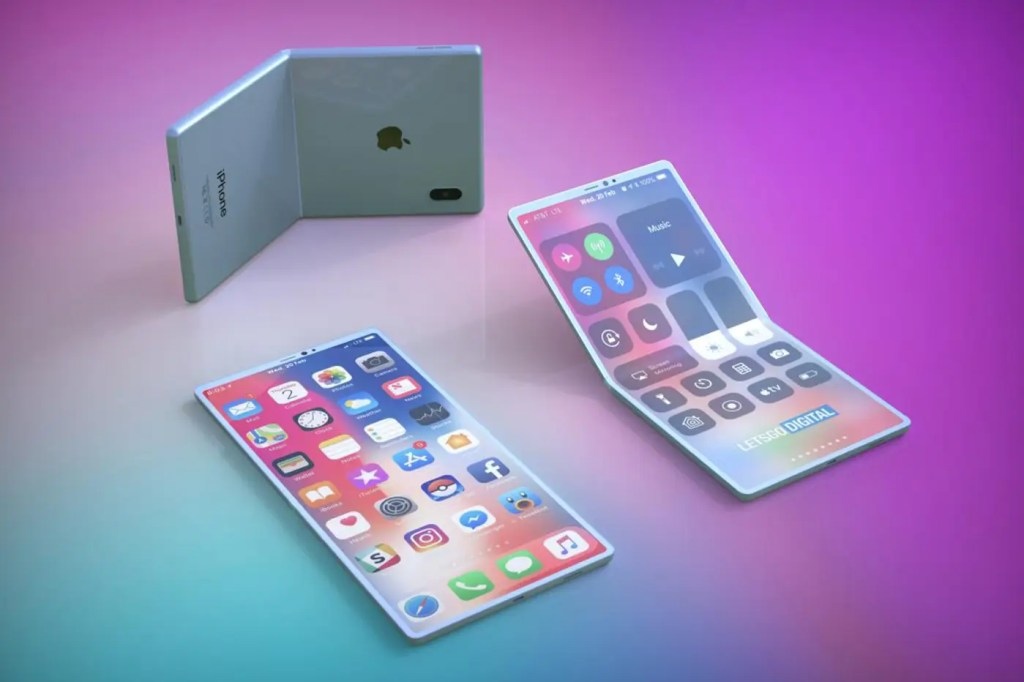 "Apple imagine un iPhone pliable avec un écran ""auto-réparateur"""