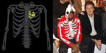 """LRG revient avec son sweat à capuche squelette """"Dead Serious"""""""