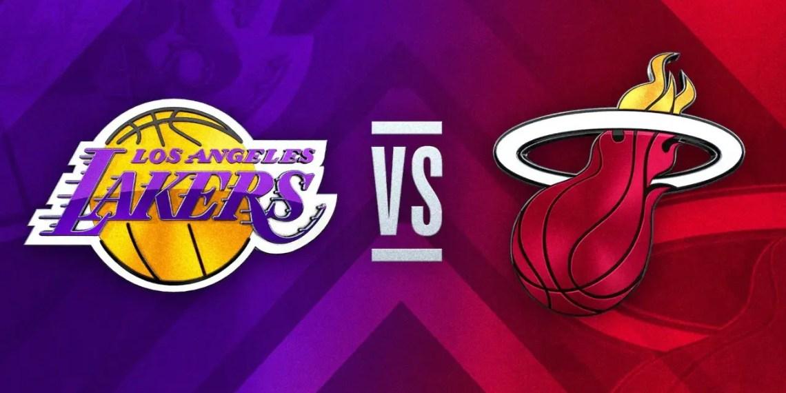Regarder Miami Heat vs Los Angeles Lakers Game 2 en streaming