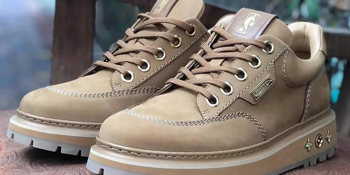 NBA x Louis Vuitton collaborent sur une nouvelle boots