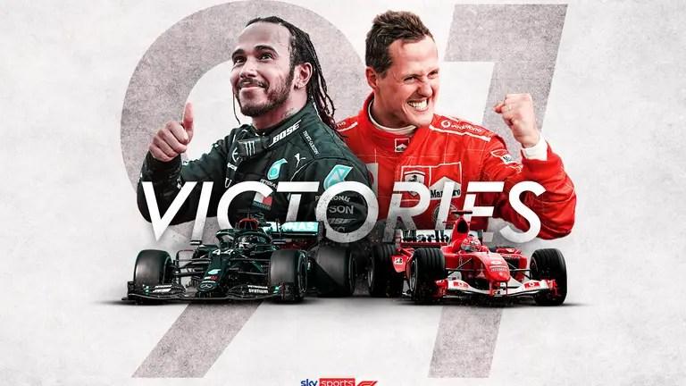 Lewis Hamilton égalise le record légendaire de la Formule 1