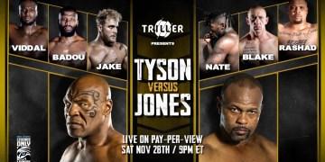 Mike Tyson vs Roy Jones Jr - Streaming : Tout ce que vous devez savoir