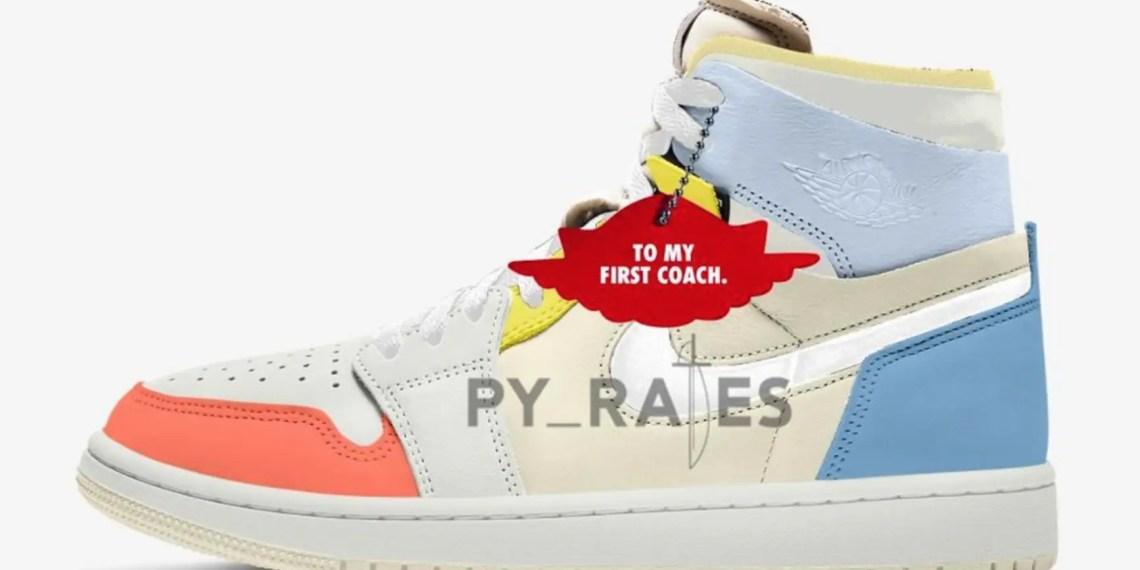 """Le pack """"To My Coach"""" d'Air Jordan 1 pour femmes arrivera à l'été 2021"""
