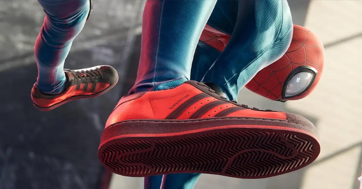 Marvel et adidas font équipe pour la Spider-Man : Miles Morales Superstar