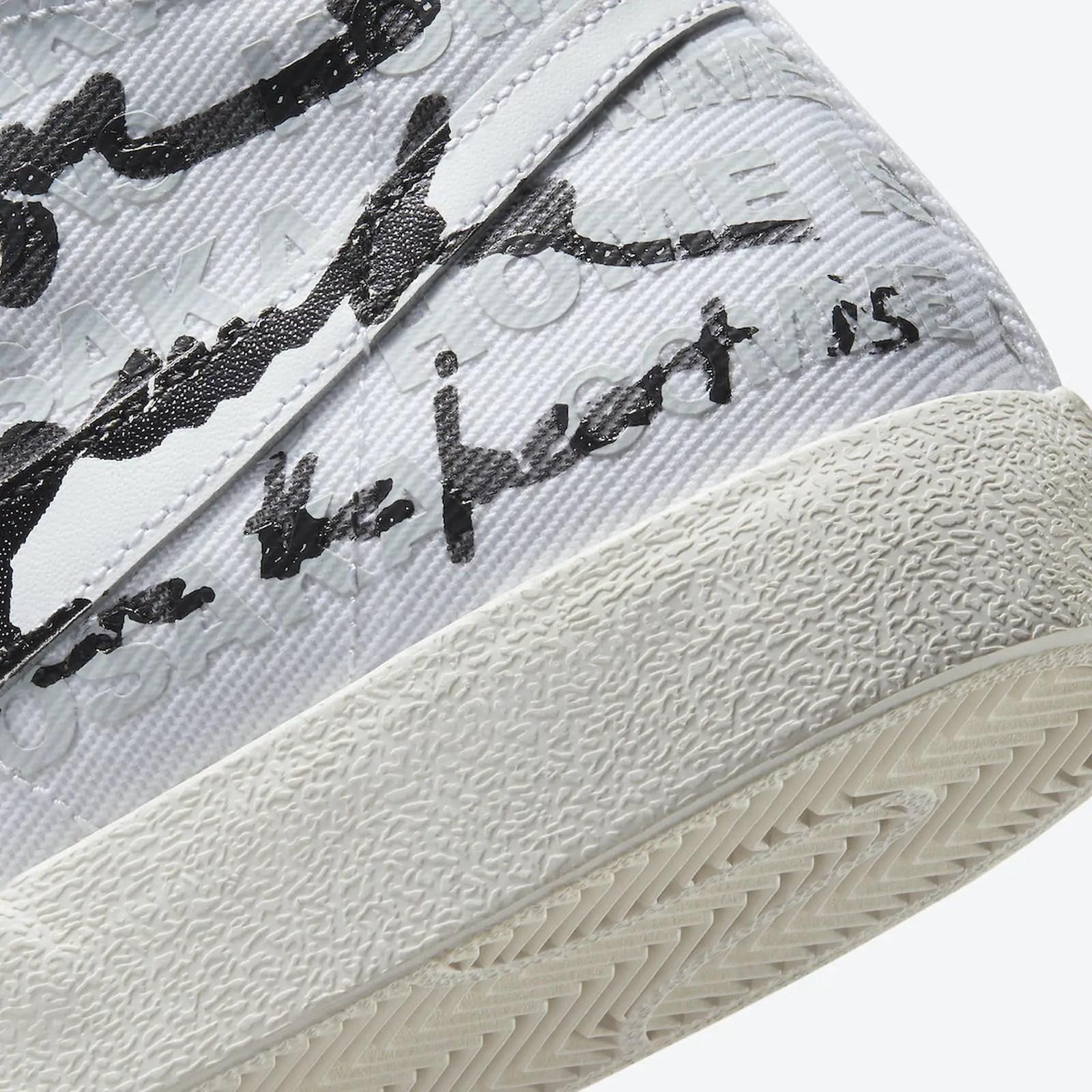 Découvrez la Blazer Comme des Garçons x Nike de  Naomi Osaka