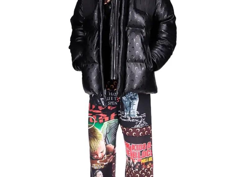 Le rappeur de New York A$AP Rocky vient de dévoiler la collaboration entre son collectif AWGE et la marque Marine Serre.